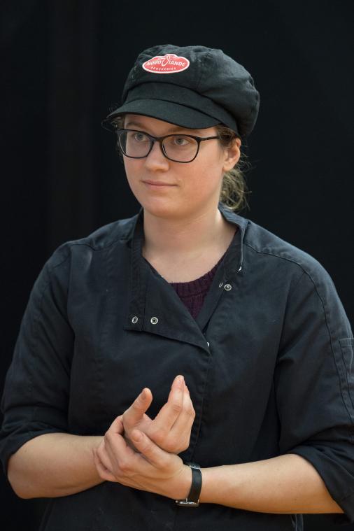 Concours national artistique boucherie Etal féminin - 3