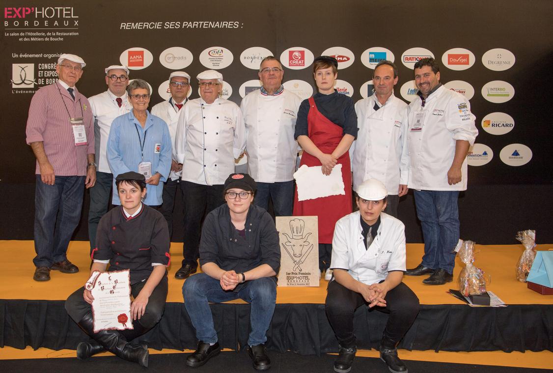 Concours national artistique boucherie Etal féminin - 6